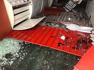 'Gangue da marcha a ré' arromba mais uma loja em Campina Grande