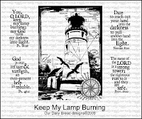 Our Daily Bread designs Keep My Lamp Burning