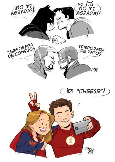 [Series] SUPERGIRL ahora en CW - Página 11 Crossovers