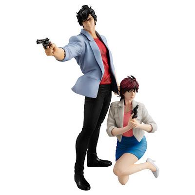 "Saeba Ryo & Makimura Kaori GEM SERIES de ""City Hunter"" - MegaHouse"