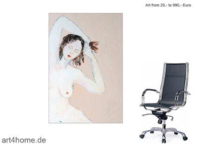 Große virtuelle Kunstausstellung.