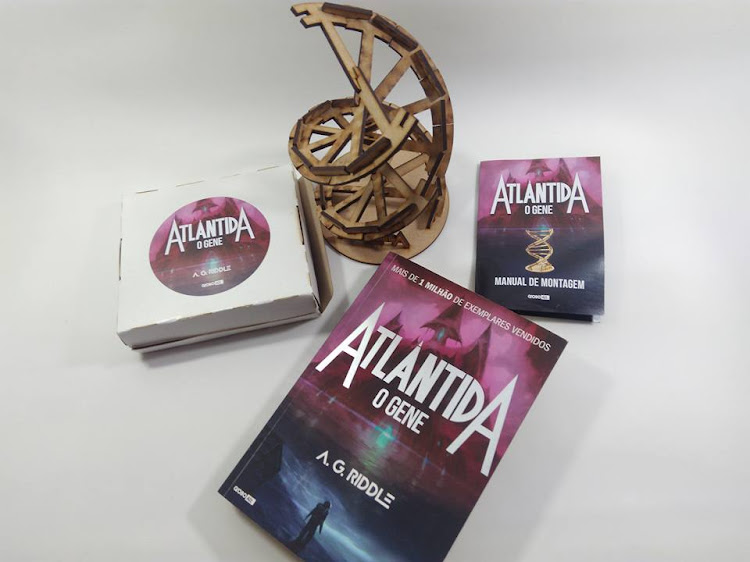 globo livros, globo alt, projeto literário, atlântida o gene, Atlântida, a g riddle