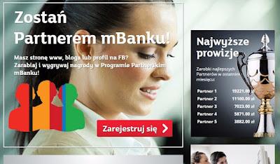 mBank - najbardziej chwalony program partnerski, opinie, opis