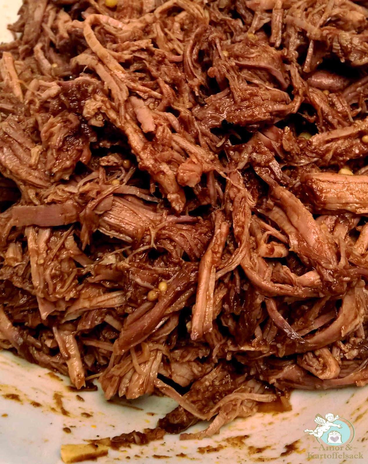 Rindfleisch im Slowcooker