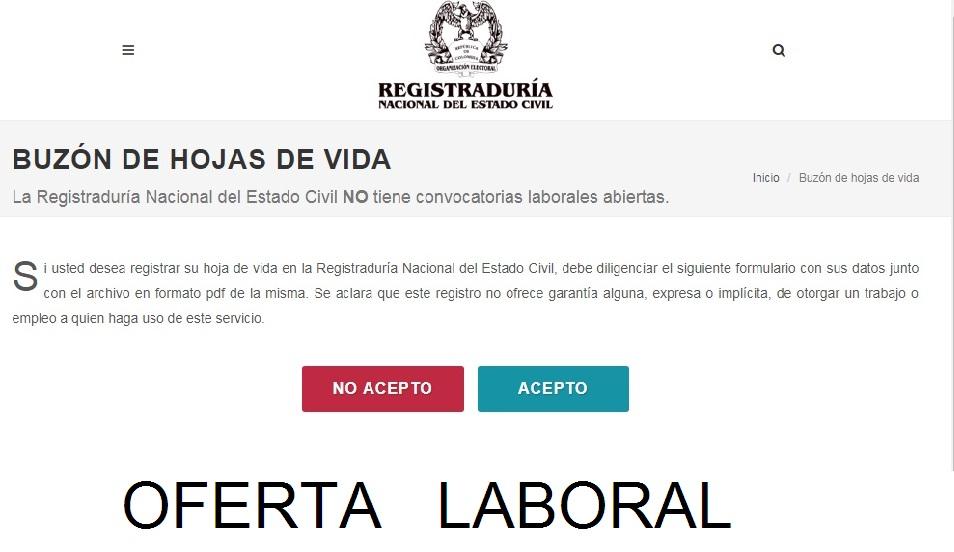 CONSULTAS Y EMPLEO: COMO REGISTRAR LA HOJA DE VIDA EN LA ...