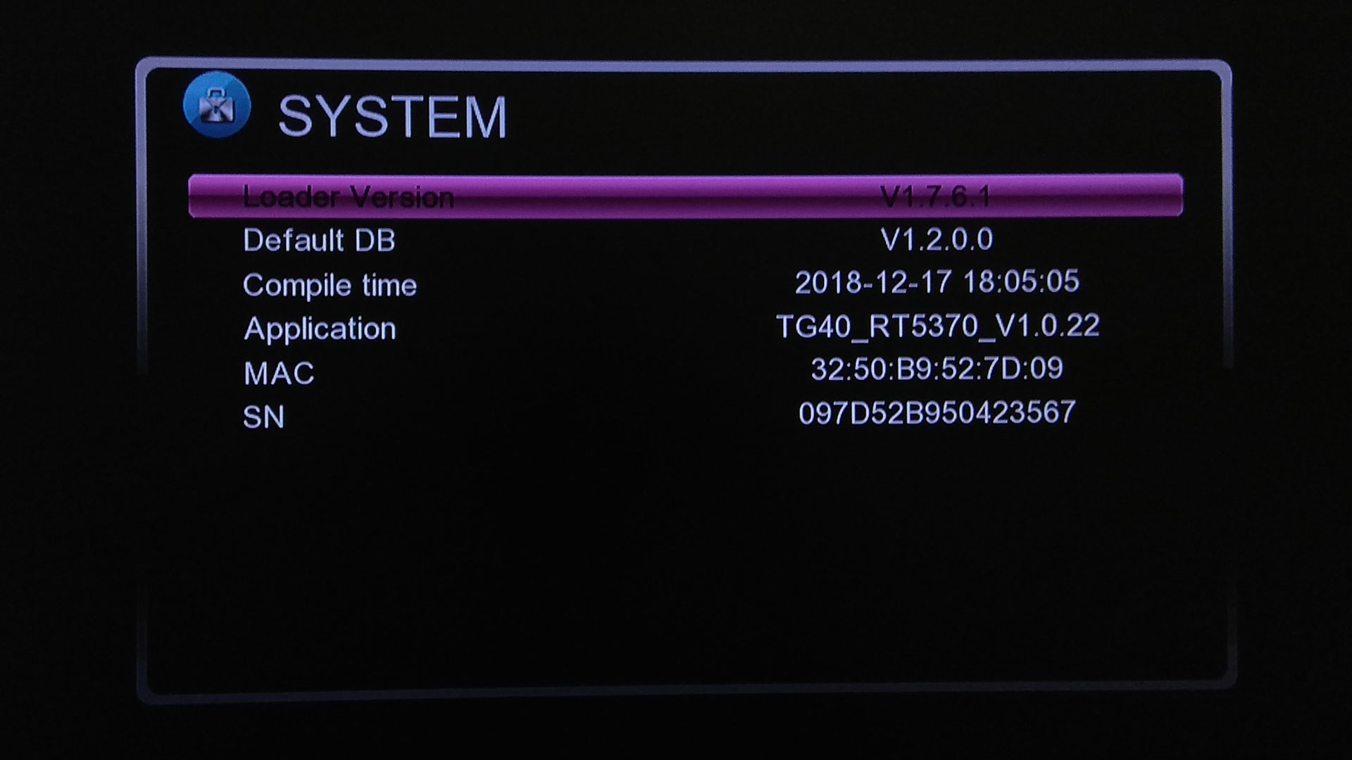 redline tg 40 hd software download New Update Firmware Receiver