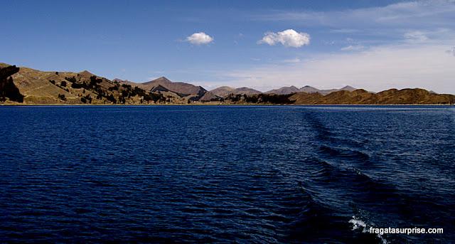 Travessia do Lago Titicaca, Bolívia