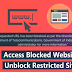 HOW TO UNBLOCK ALL BLOCKED SITES ON GOOGLE CHROME USING EXTENSION | EASY WAY 🔥🔥