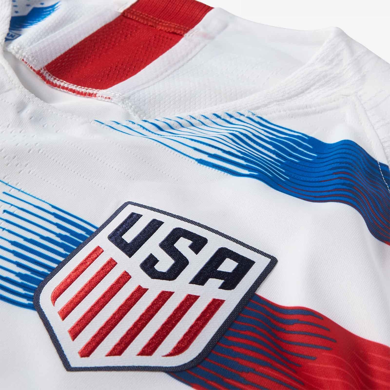 ab8286346b Nike divulga as novas camisas dos Estados Unidos - Show de Camisas