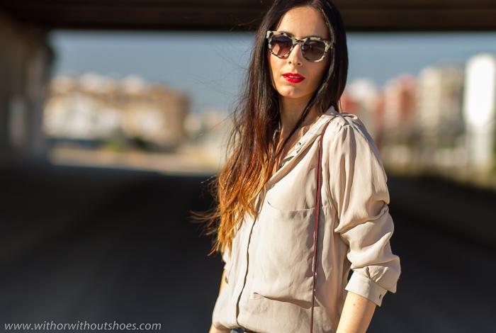 Influencers España Moda Mujer Verano 2016 Gafas Sol Prada Tendencia maquillaje labios rojos