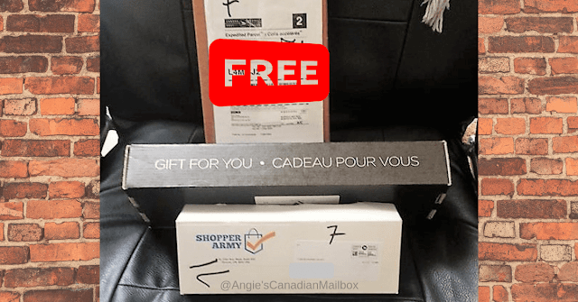 Free stuff in the mail in Canada