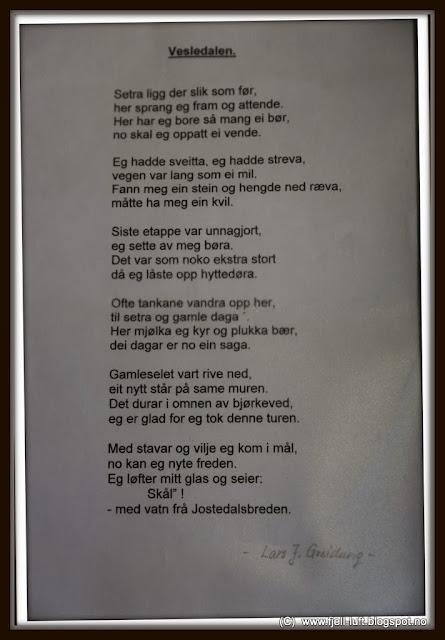 vakre dikt om kjærlighet sogn og fjordane