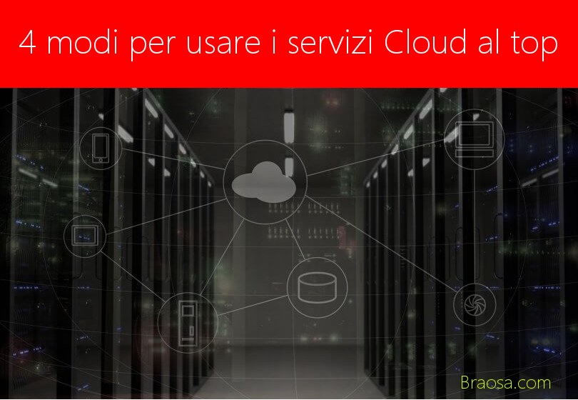 Come usare i servizi Cloud al massimo livello