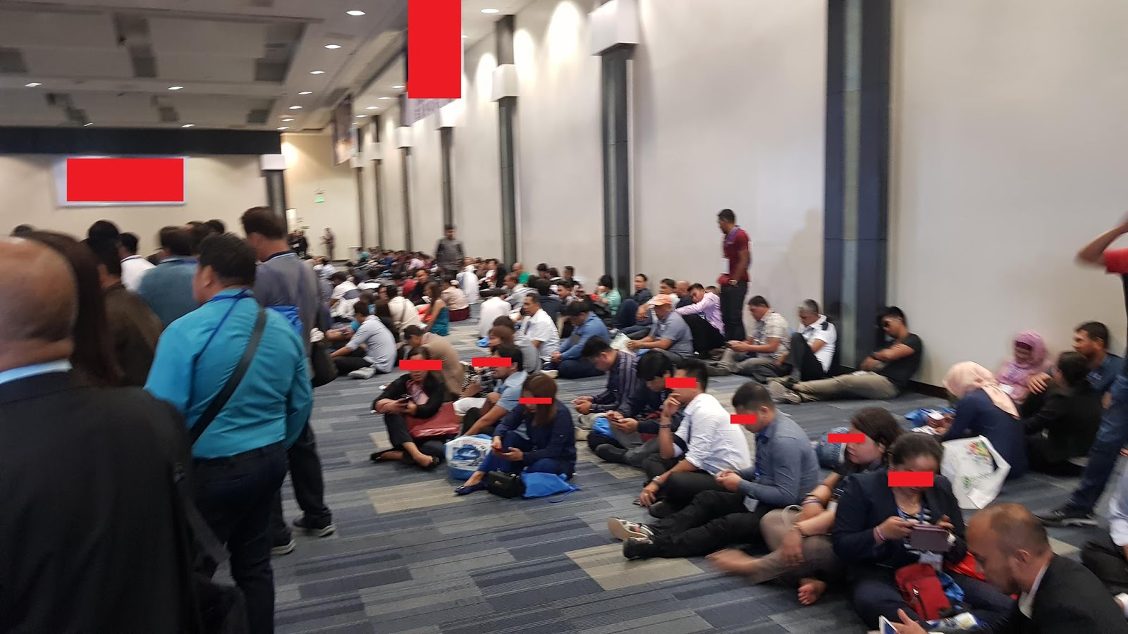 Engineer shares photo from alleged overpriced CPD seminar