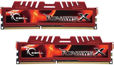 G.Skill RipjawsX 2x8 GB DDR3