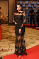 Actress Soniya Stills in Beautiful Black Long Dress at SIIMA Short Film Awards 2017 .COM 0004.JPG