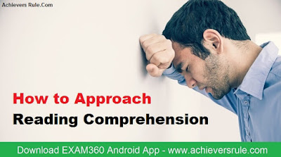 How to Solve Reading Comprehension in IBPS PO