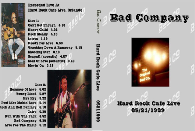 deer5001rockcocert bad company 1999 05 21 hard rock cafe 3dvd set. Black Bedroom Furniture Sets. Home Design Ideas