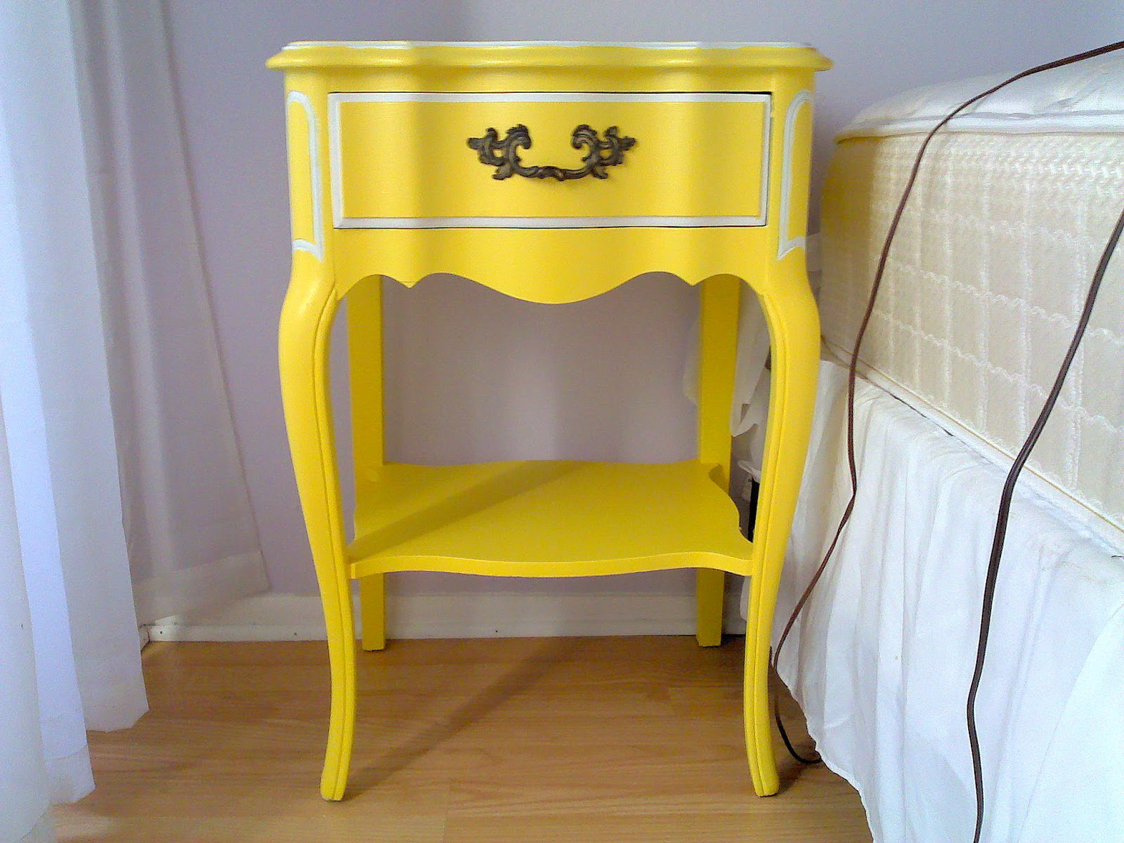 A Brandi Sized Blog Yellow Furniture for the Single Ladies