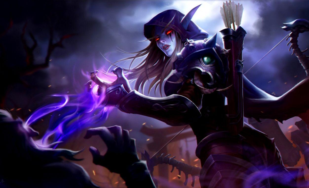 World Of Warcraft Dark Lady Wallpapers Land