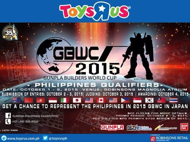 GBWC - 2015 GUNPLA BUILDERS WORLD CUP