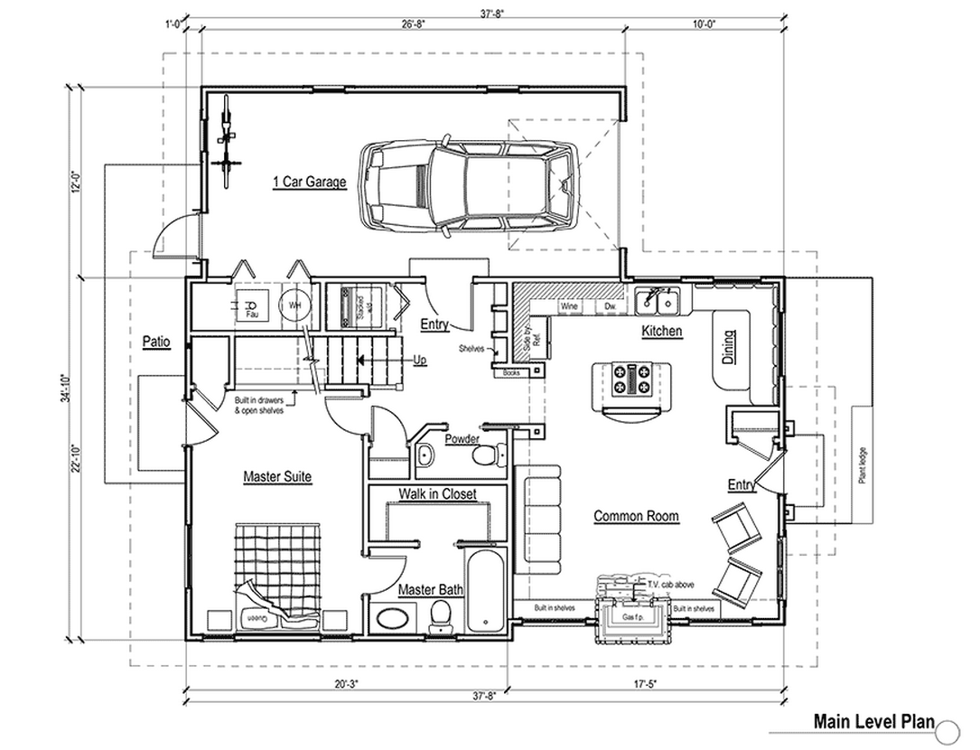 Small 4 bedroom 3 bath house plans house plans for Small 3 4 bathroom floor plans