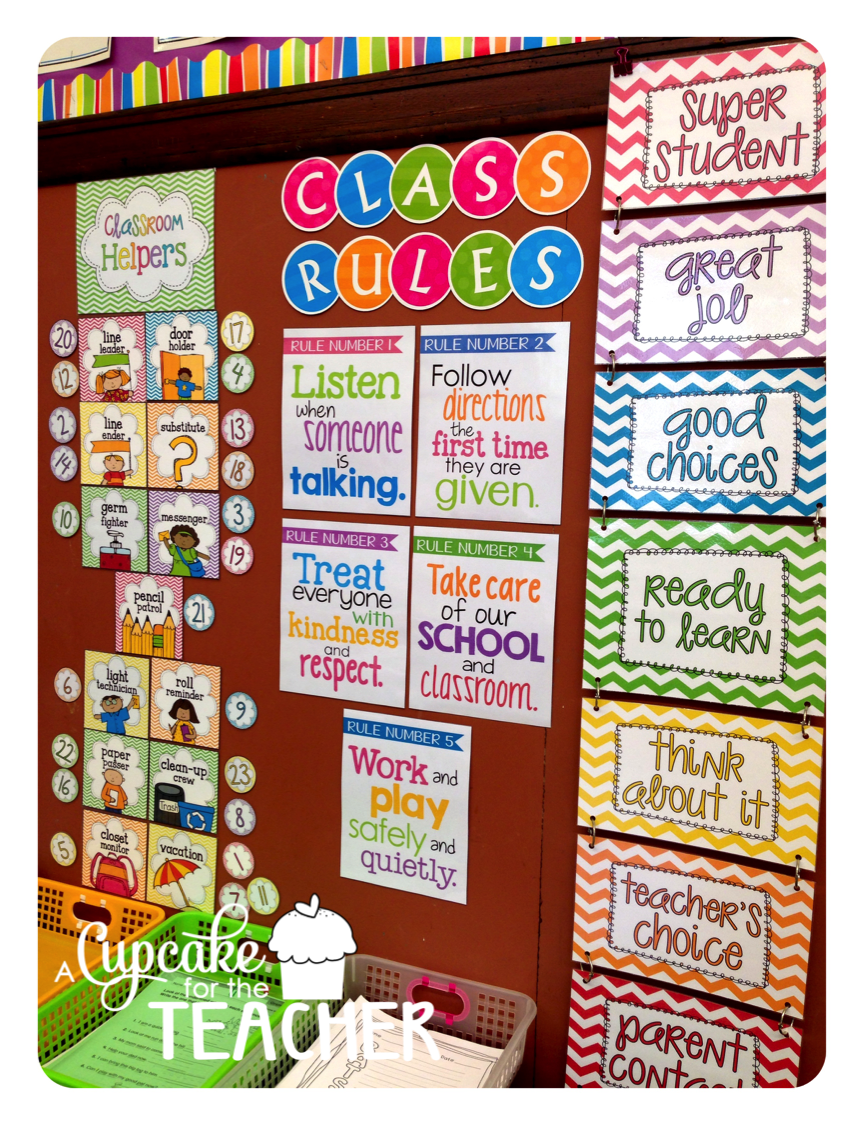 Classroom Ideas Grade 4 ~ Classroom reveal a cupcake for the teacher