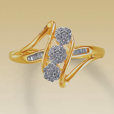 garden Latest Design of Ring for Beloved or Engagement