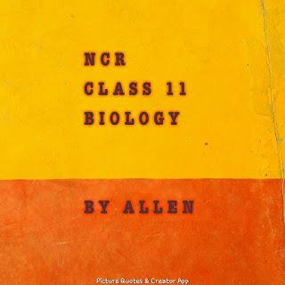 [PDF] NCR CLASS 11 BIOLOGY BY ALLEN INSTITUTE