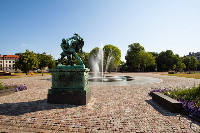 Verso il Saluhallen (mercato)-Goteborg