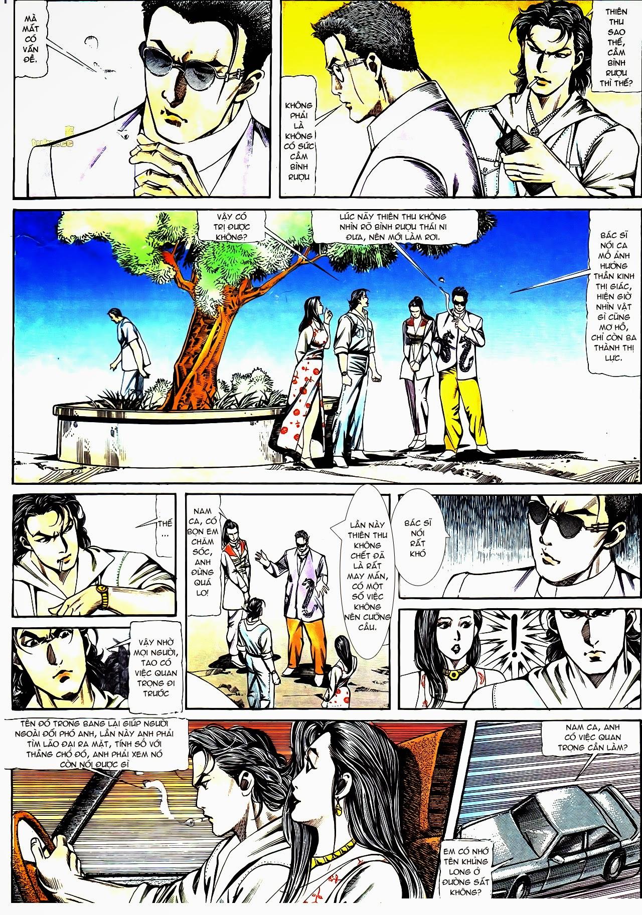 Người Trong Giang Hồ chapter 121: phong khởi vân dũng trang 5