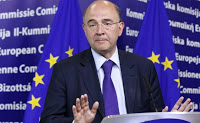 ο Ευρωπαίος επίτροπος Οικονομικών Πιερ Μοσκοβισί
