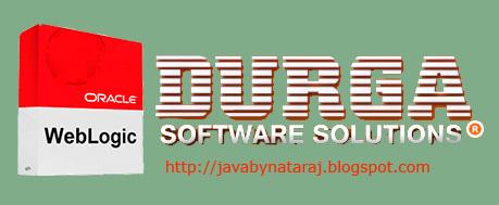 WebLogic Server Administration PDF Guide from DurgaSoft