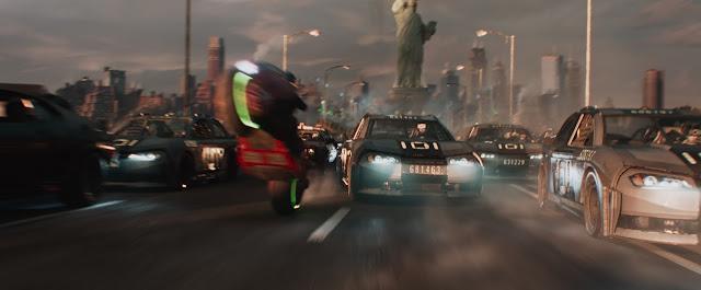 La course de véhicules dans Ready Player One