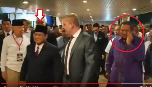 Viral Video SBY 'Dicuekin' Prabowo, Timses : Ada yang Mau Rusak Hubungan PS dan SBY