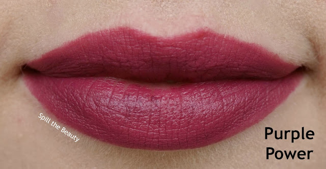 essence matt matt matt lipstick review swatches 7 purple power