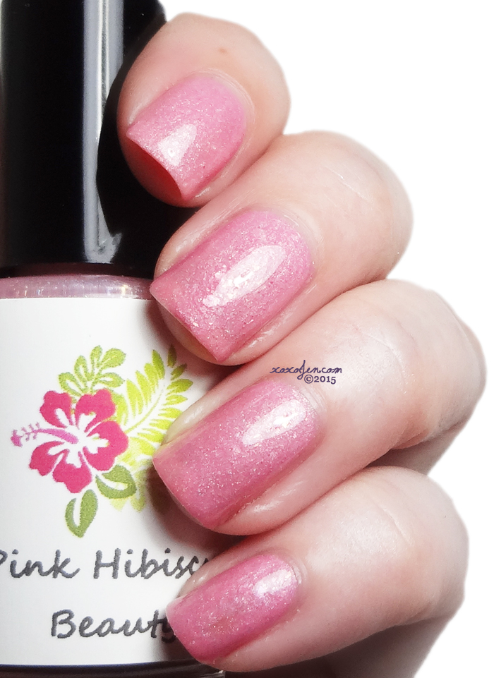 xoxoJen's swatch of Pink Hibiscus Nutcrackers in New England