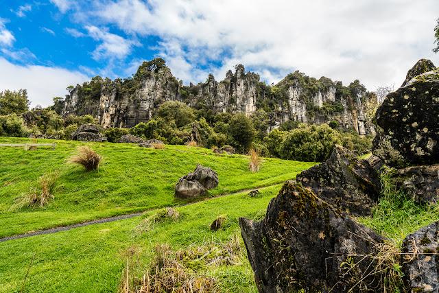 Cliffs at Hairy Feet hobbit location