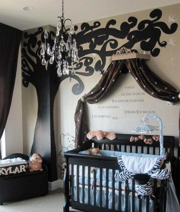 bedroom baby luxury
