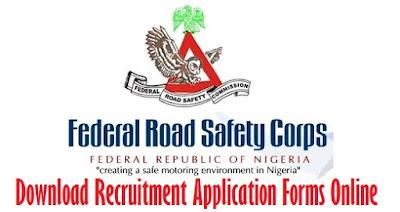 FRSC Recruitment 2017 - Download Application Forms Online