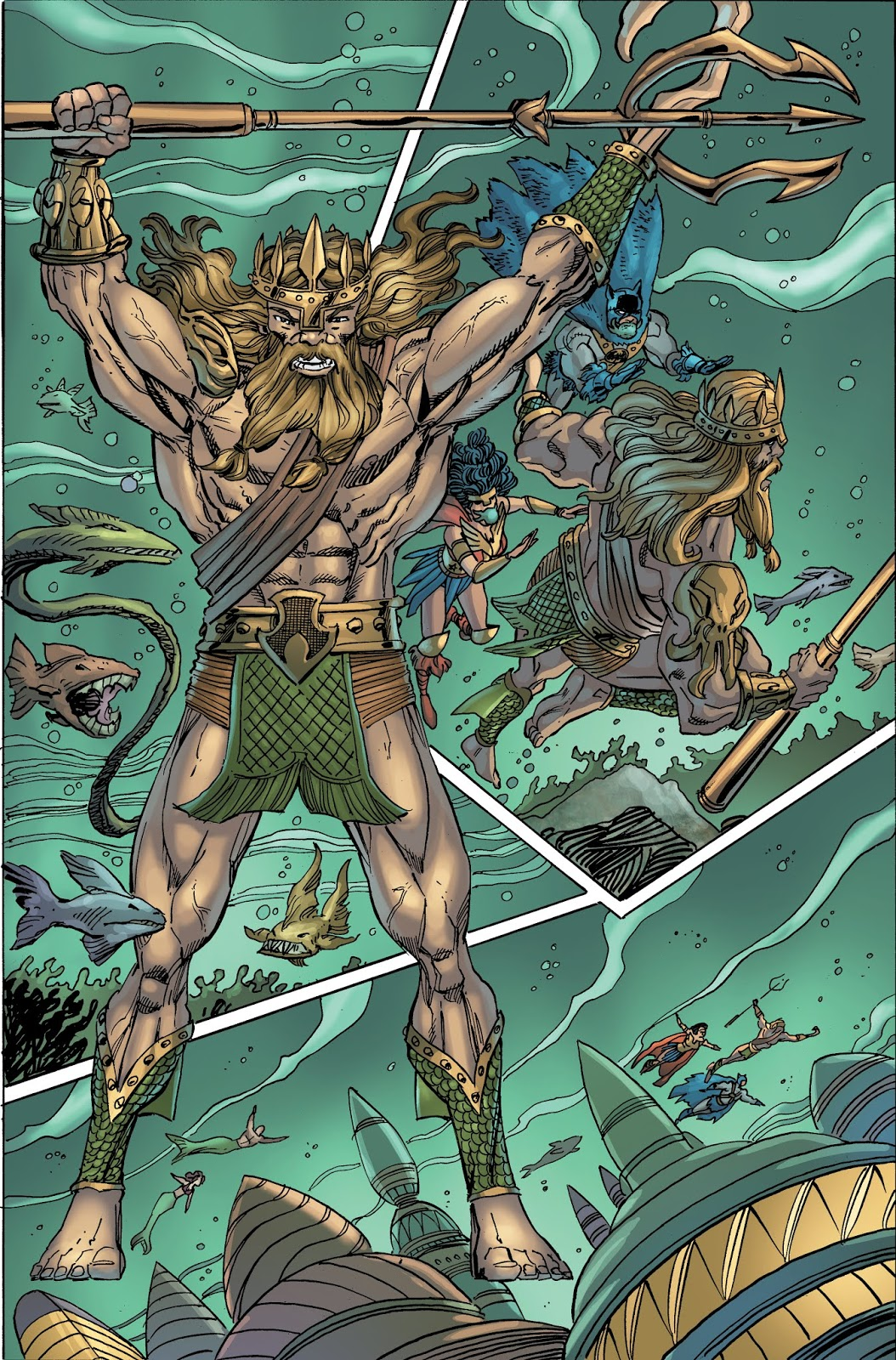 DC PRIMAL AGE 100 PAGE GIANT