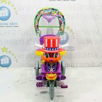 Sepeda Roda Tiga Royal RY8782C Magician Kanopi purple