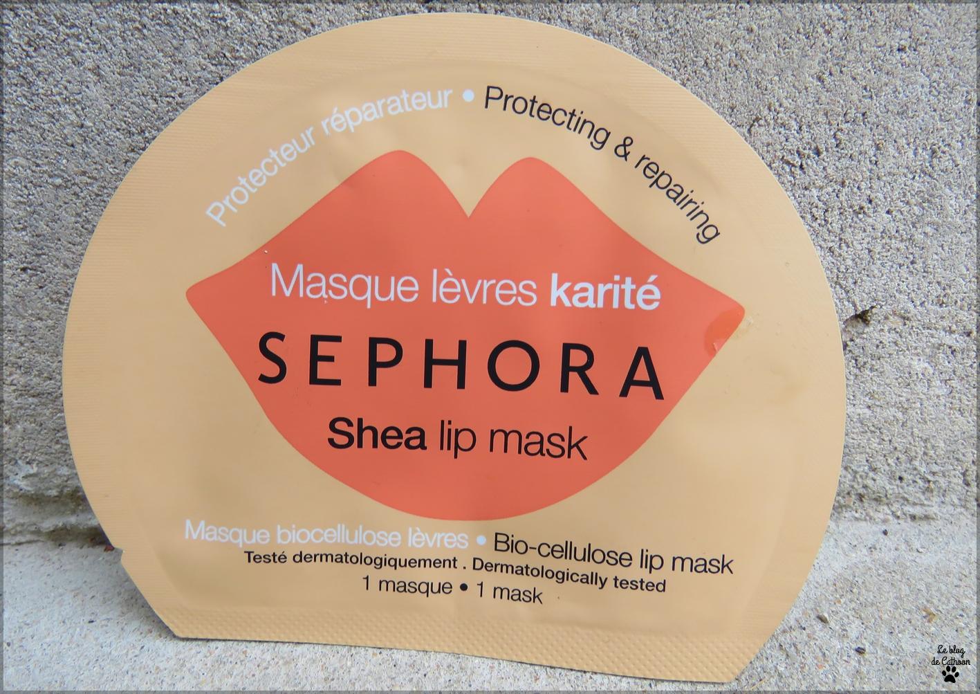Masque Lèvres - Karité - Sephora