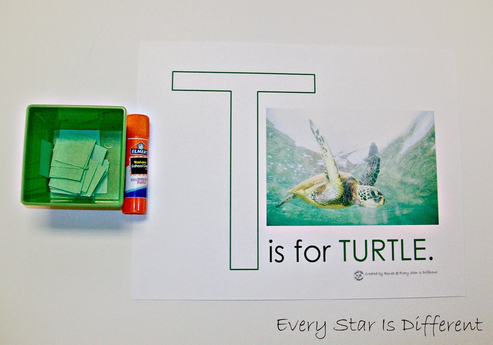 Sea Turtle Activities For Tots W Free Printables Klp