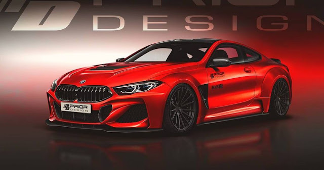 BMW, BMW 8-Series, Prior Design, Tuning