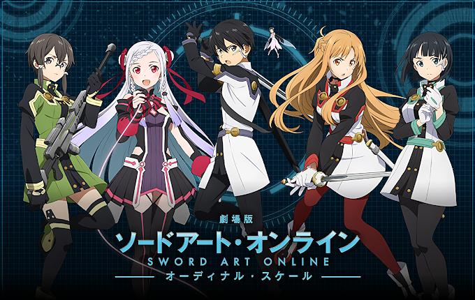 Sword Art Online Movie Ordinal Scale Subtitle Indonesia