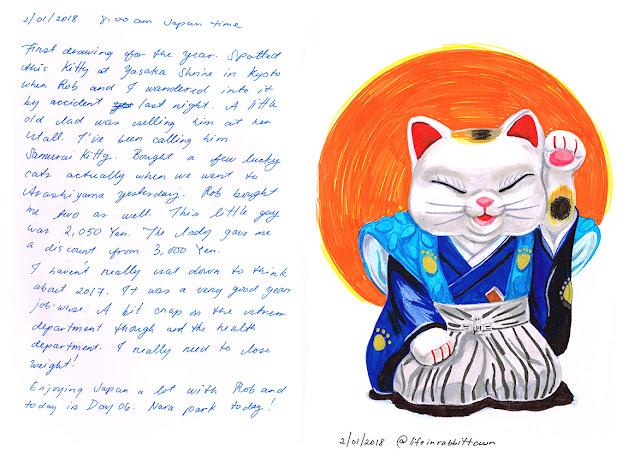 drawings by Marta Tesoro/ Rabbit Town Art