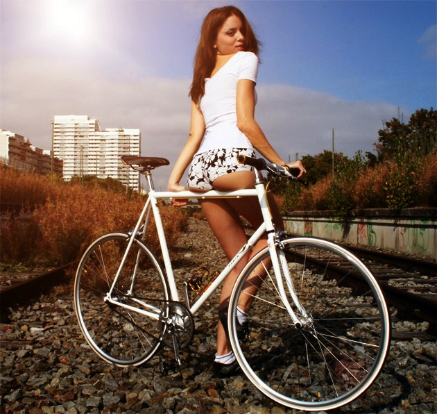секс на велосипеде