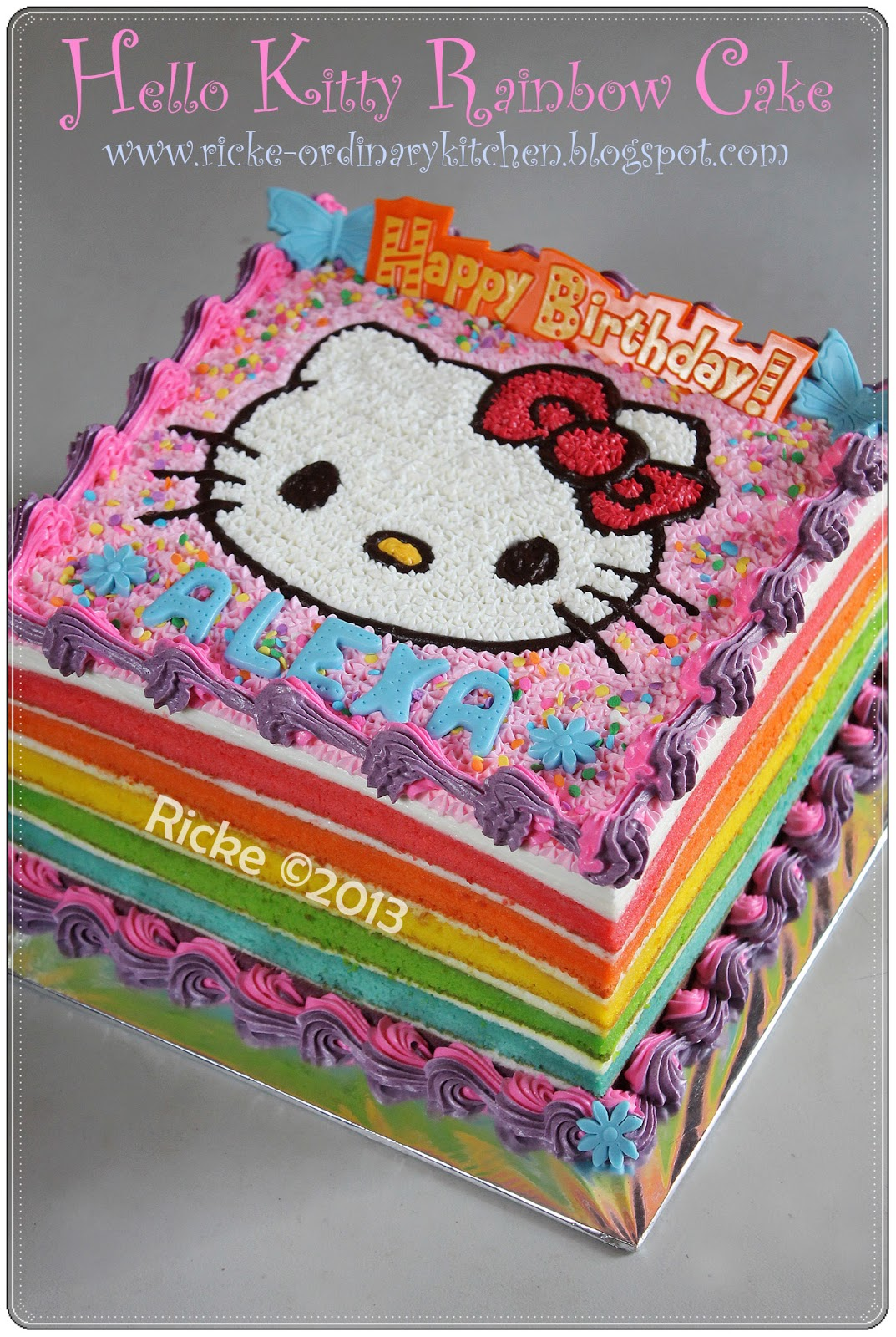 40+ Gambar Hello Kitty Di Kue, Info Baru!