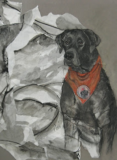 Labrador Art ASCPA Dog of the Year By Cori Solomon